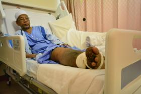 Mr Chatayan suffers from elephantiasis. He was warded on June 13, but has since been discharged.