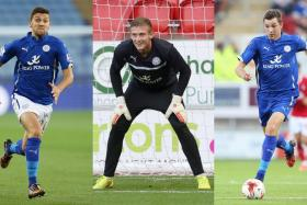 Leicester City have sacked James Pearson, Adam Smith and Tom Hopper for racially abusing a Thai woman in a leaked sex tape while touring Thailand.