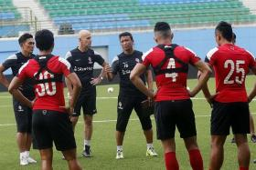 NEW FOCUS: Fandi Ahmad and his men will be looking to get their MSL campaign back on track tonight.