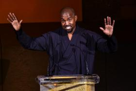 Kanye West at the 2015 CFDA Fashion Awards in New York City on June 1, 2015.