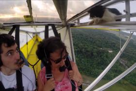 The exact moment when a pilot realises he needs to conduct more thorough checks before flying...