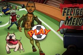 Brazilian midfielder Felipe Melo has made his own game entitled Felipe Melo Z.