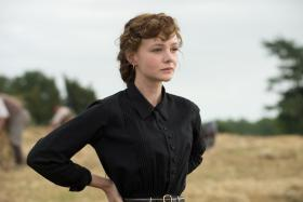 NEW GIRL: Carey Mulligan takes on the role of Bathsheba Everdene, made famous by Julie Christie.