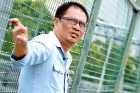 Local actor and director Rafaat Hamzah pledges to a new start after being released from prison.