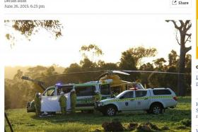 S'pore woman put into induced coma after Perth accident