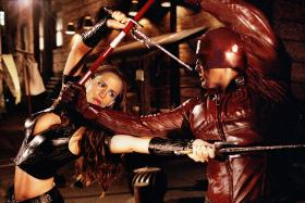 POWER COUPLE: The couple in the 2003 movie, Daredevil.