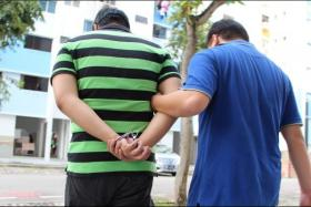 A suspected syndicate member is nabbed.