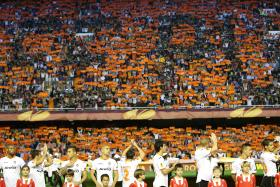 """""""Our objectives remain focused on growing the club and competing at the highest level of European football."""" - Valencia chairman Chan Lay Hoon, also the new president, on the club's sporting strategy. Valencia (above) finished fourth in La Liga last season."""