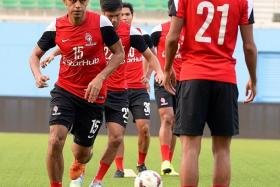 FREEDOM: Shahdan Sulaiman (No. 15) will be given licence to roam in the final third.