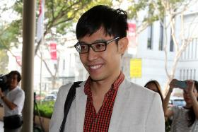 SORRY: Mr Roy Ngerng apologised for what he said, but emphasised that he had criticised the Government, not the Prime Minister.