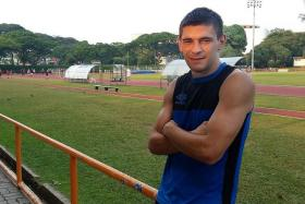 IN FORM: Miroslav Kristic has been in scoring form for Balestier Khalsa with 10 goals in all competitions this season.