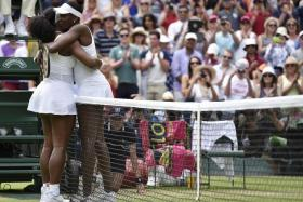 IMPRESSIVE TALLY: Serena (above) and Venus Williams have a combined total of 27 Grand Slams.