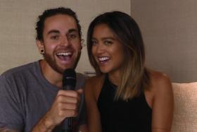Us The Duo's Michael and Carissa Alvarado sing Where Am I?, a song they created with six random words.