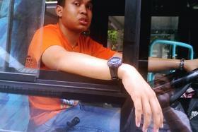 Muhammad Salahuddin Omar, stole a bus from a Woodlands industrial park.