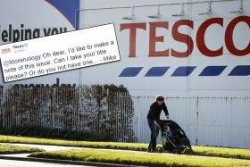 British supermarket chain Tesco put a Liverpool troll back in his place after he took a swipe at Chelsea.