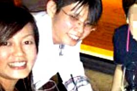 WHAT HAPPENED BASED ON ANG'S CONFESSION: 1. Ang Soo Hoon (in white), Ms Celine Ng and three friends have drinks at a bar in the Fullerton Bay Hotel to celebrate Ms Ng's 36th birthday before heading home for more drinks.
