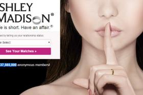 Screen grab from Ashley Madison.