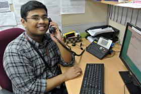 HELP: Paracounsellor Syawal Hussain (above) and counsellor Diana Kang.