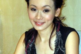 Shirley Yeung (above) now knows the dangers of wearing contact lenses for too long a period of time.