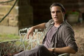 HE'S BACK: Joaquin Phoenix plays the role of a brilliant philosophy professor in his latest movie, Irrational Man.