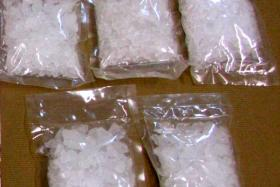 The Central Narcotics Bureau seized 560g of Ice during an operation on Wednesday.