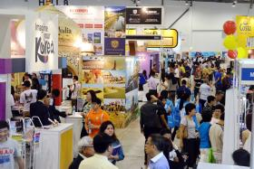 COMPETITION: About 55,000 people went to Natas' three-day fair in March.