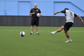 ALL-ROUND STRENGTH: Brunei DPMM coach Steve Kean (above) believes they are a more balanced side this season.