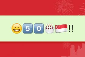 Win tickets to the National Day Parade next weekend by guessing the emojis.