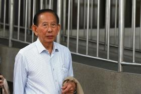 DIRECTOR: Tan Cheng Hoe, 82, the director of Chinpo, which has been charged with transferring funds that may be used in North Korea's nuclear efforts.