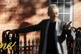NEW TAKE: McKellen at the UK Premiere of the film Mr Holmes in London in June.