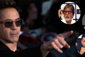 Robert Downey Jr tops the highest paid actors, with Amitabh Bachchan, Salman Khan and Akshay Kumar making their  Top 10 debut