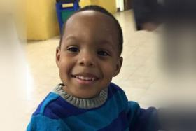 The three-year-old boy was allegedly shot in the face by an 11-year-old boy.