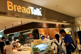 File photo of BreadTalk. They were given a strongly worded warning by Case for selling a soya bean drink that were repackaged from a packet of Yeo's Soya bean drink.