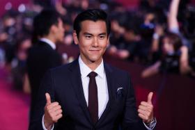 COMPETITIVE: Eddie Peng plays an emotional and bad-tempered competitive cyclist in To The Fore.