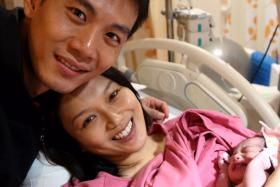 Qi Yuwu, Joanne Peh and daughter