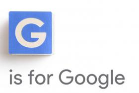 G is for Google.