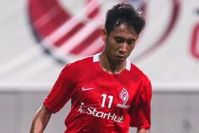 """""""After playing as a right back, I've learnt to deal with wingers, so now I know the mistakes defenders make and I know how to play against fullbacks."""" — Nazrul Ahmad Nazari (above)"""