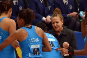 Kate Carpenter(far right) had been the national coach for seven years, spanning two stints.