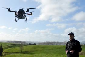 File photo of a drone. Police in Malaysia are set to use similar devices to improve surveillance