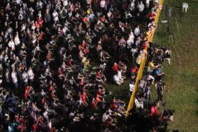 File photo of the the Singapore Democratic Party rally at Clementi Avenue 4 during the 2011 General Election.