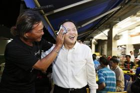 INDEPENDENT: Lawyer Tan Lam Siong will be contesting in Potong Pasir.
