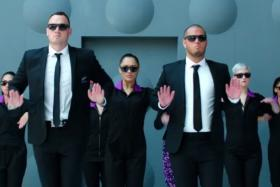 Air New Zealand enlists the help of the Men In Black for its new safety video.