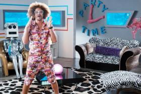 HOST: Redfoo in his hosting role for MTV's new TV series Say It With Song.