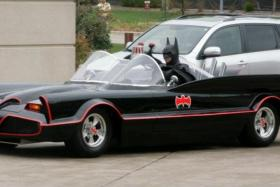 Lenny Robinson, an American businessman who visited sick children in hospital dressed as Batman, was killed in a car accident.