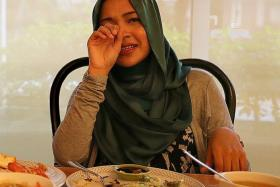 GRIEF: Syirah Jusni said she is in the process of 'healing emotionally' from the pain of losing her boyfriend Ashmi Roslan.