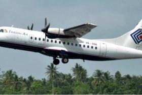 An Indonesian passenger plane carrying 54 people went missing Sunday (Aug 16) during a flight in bad weather in eastern Indonesia.
