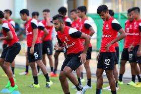 BACK ON SONG: LionsXII right back Faritz Abdul Hameed has returned strongly after the injury-plagued season last year.