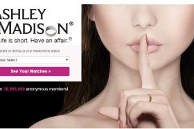 The infamous Ashley Madison website which promotes having an affair.