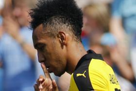 Pierre-Emerick Aubameyang of Borussia Dortmund.