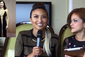 Fashion icons Jeannie Mai (left) and Sazzy Falak were in Singapore to promote their new show How Do I Look? Asia.